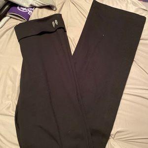 Victoria's Secret black yoga pants size medium